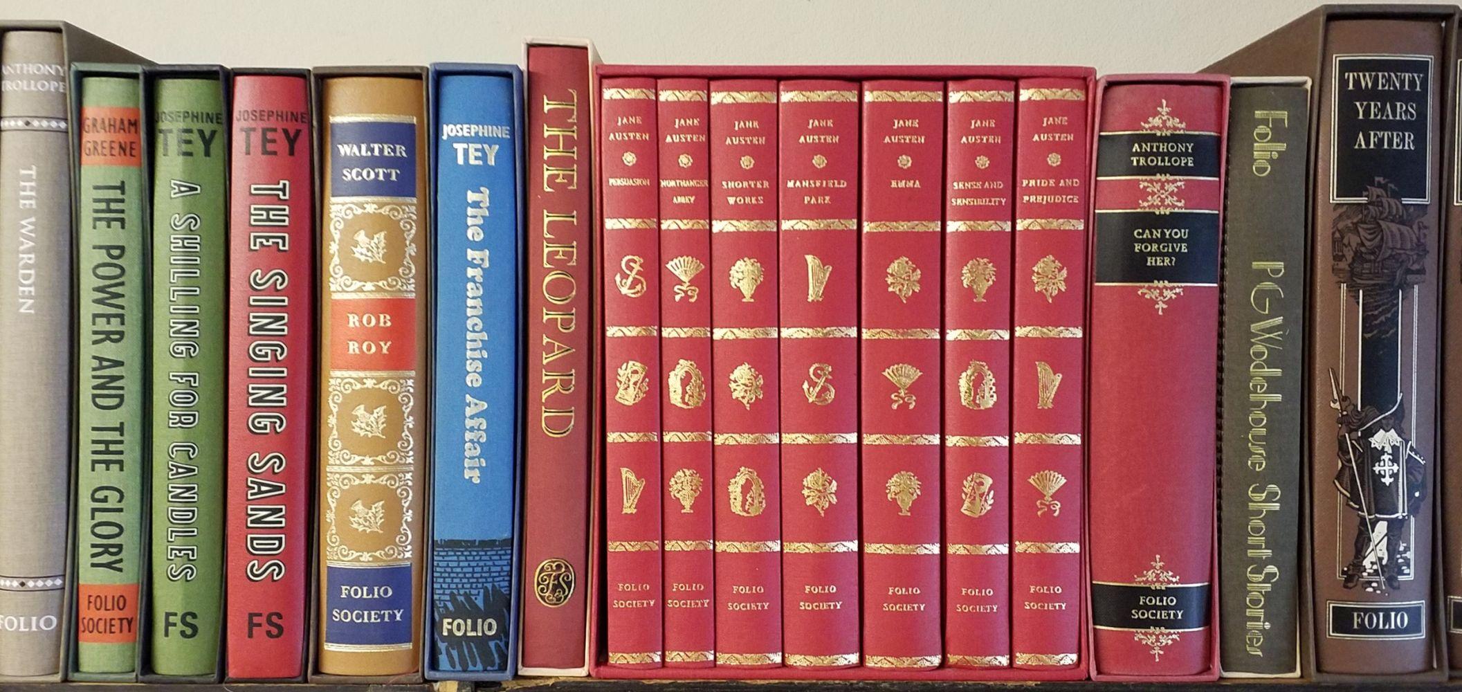 Folio Society. 59 volumes