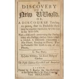 Wilkins (John). A Discovery of a New World, 2 parts in 1, 5th edition, 1684