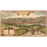 * Poland. Braun (Georg & Hogenberg Franz), Cracovia Minoris Poloniae..., 1617