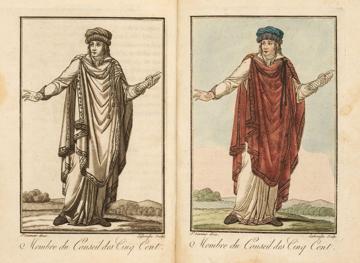 Grasset de Saint-Sauveur (Jacques). Costumes des représentans du peuple