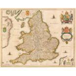 England & Wales. Jansson (Jan), Anglia Regnum, Amsterdam, circa 1648