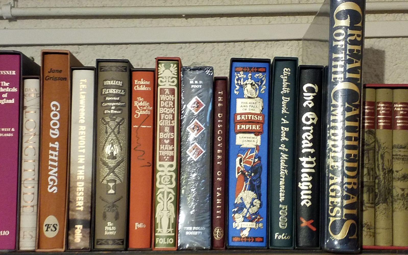 Folio Society. 78 volumes
