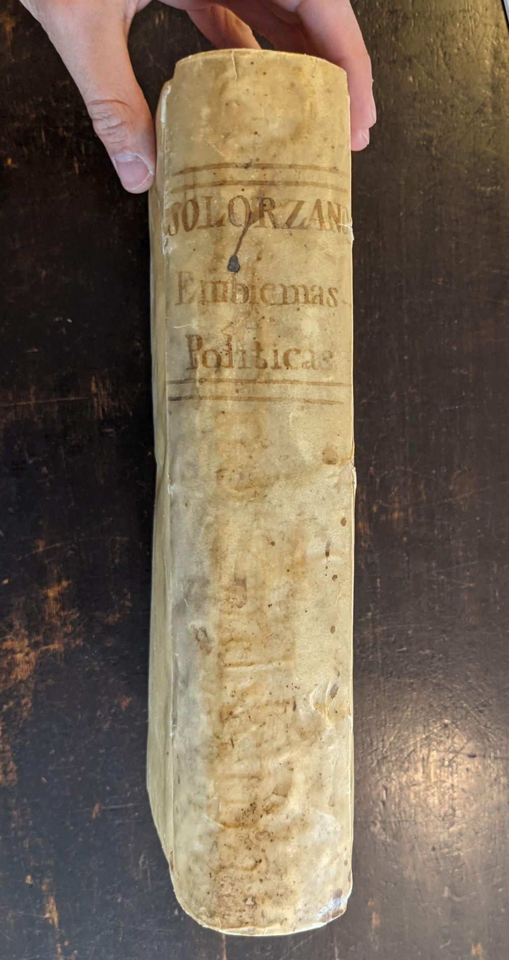 Solorzano Pereira (Juan de). Emblemata centum, regio politica, Madrid, 1653 - Image 4 of 10