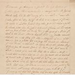 * West Indies. Manuscript application for funds and assistance... , mid 18th century