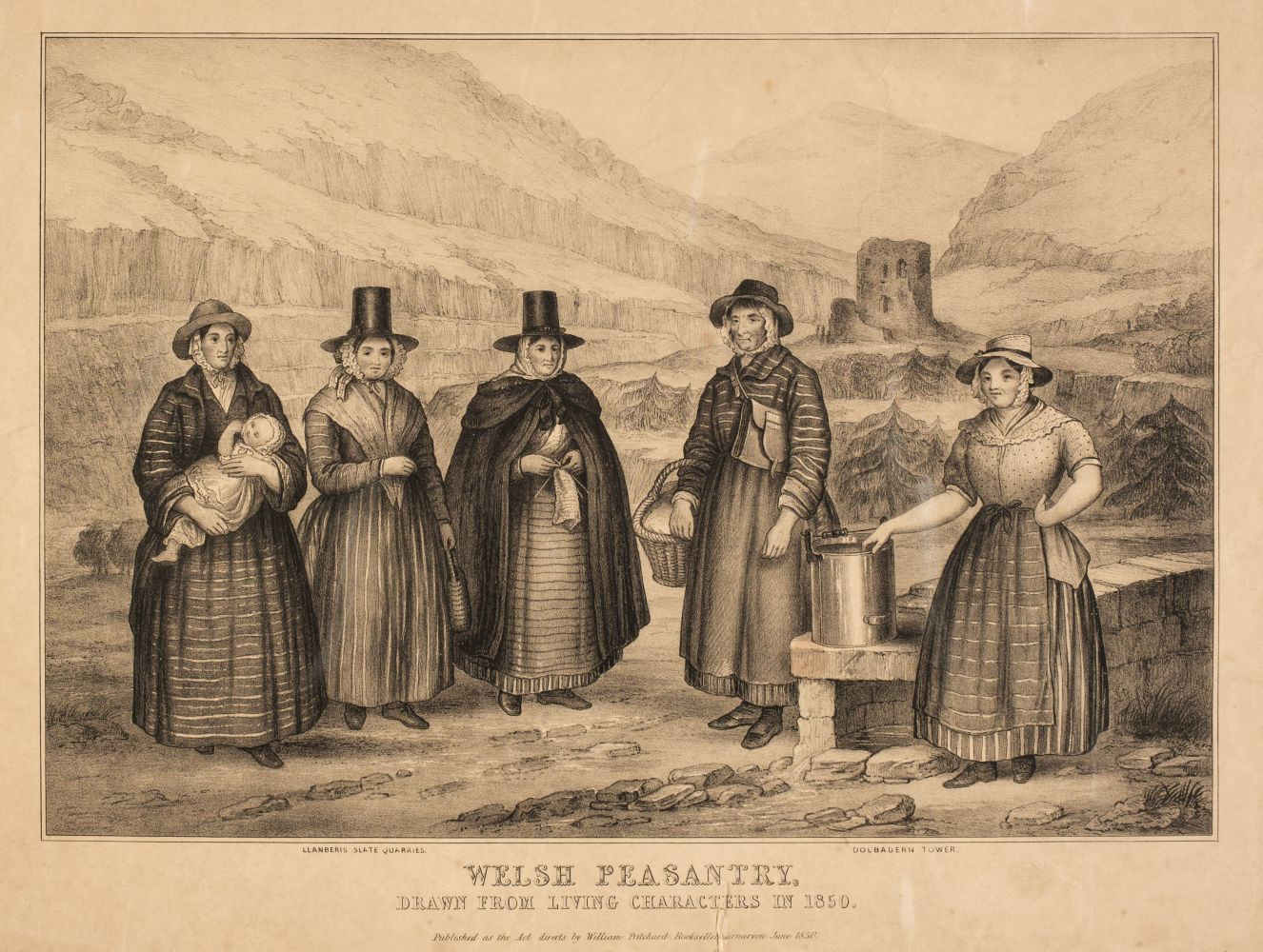 * Prints & engravings. A mixed collection of 30 prints & drawings, 19th & 20th century