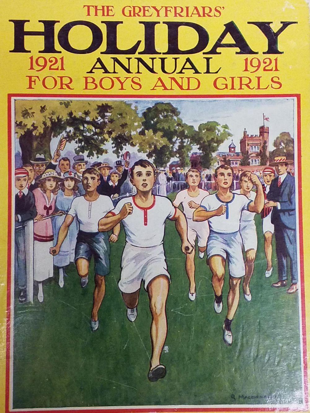 The Greyfriars' Holiday Annual. 30 volumes, a broken run 1921-1986