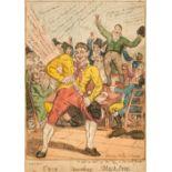 * Boxing. Elmes (William), Cribb uncorking Blackstrap, Thomas Tegg, 1811