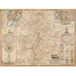 * Warwickshire. Speed (John), The Counti of Warwick, The Shire Towne..., 1627