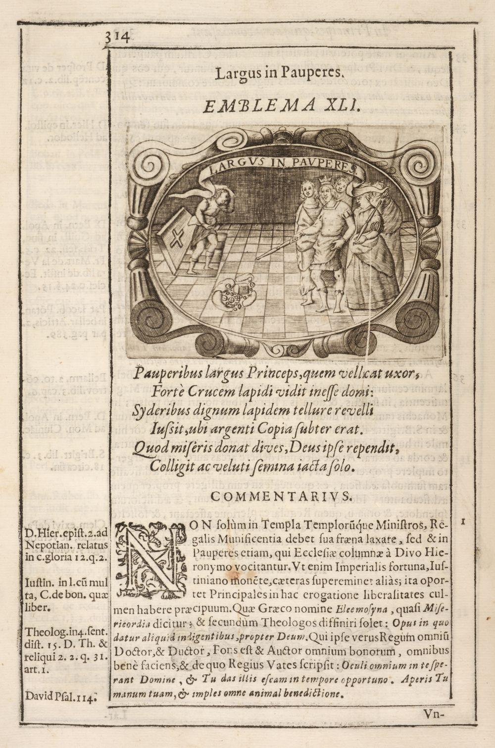 Solorzano Pereira (Juan de). Emblemata centum, regio politica, Madrid, 1653
