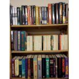 Crime fiction. A large collection of modern crime fiction