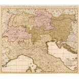 Europe. A collection of 21 maps, 17th - 19th century
