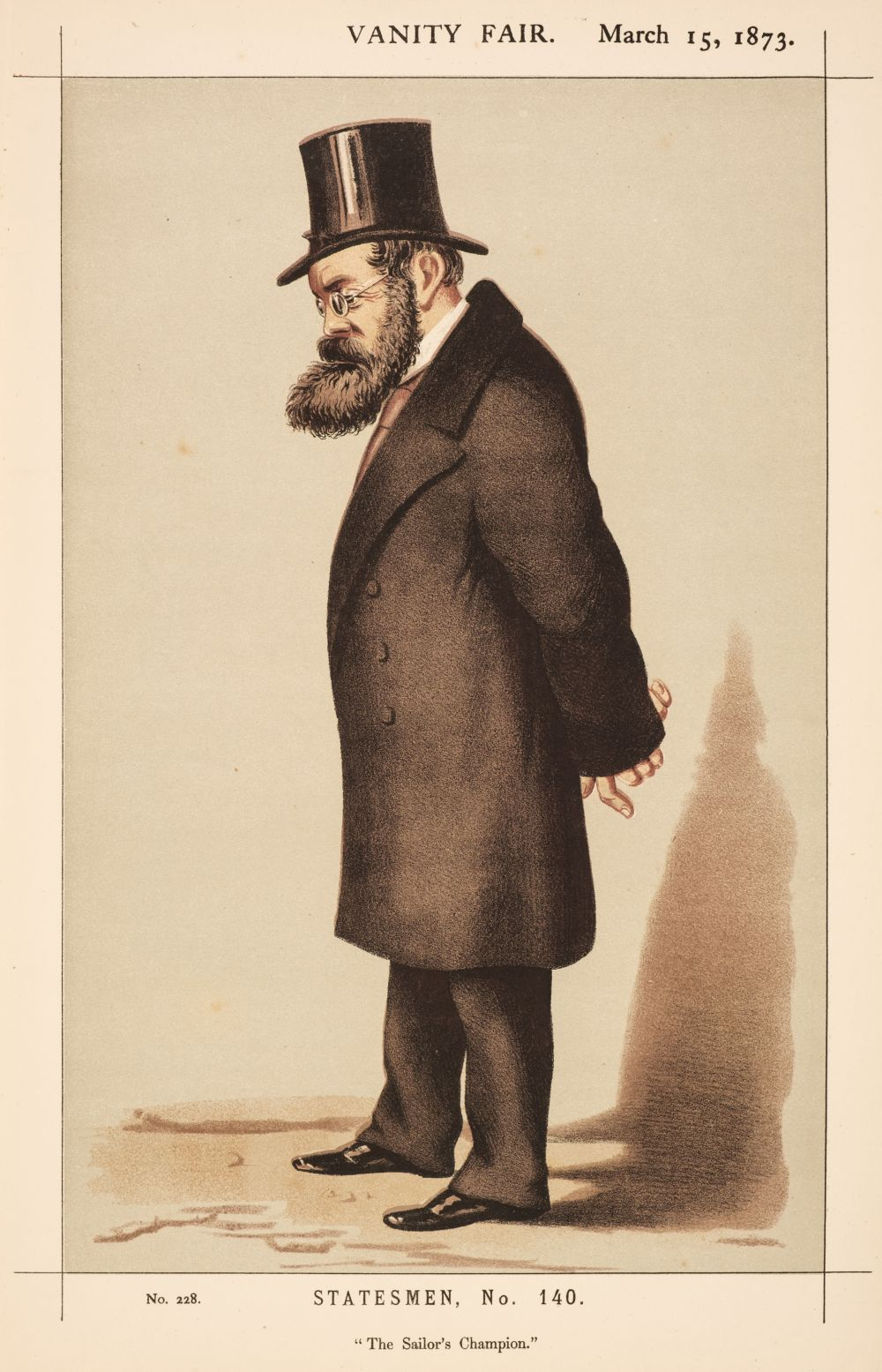 * Vanity Fair Caricatures. A collection of approximately 95 prints, 1869 -73