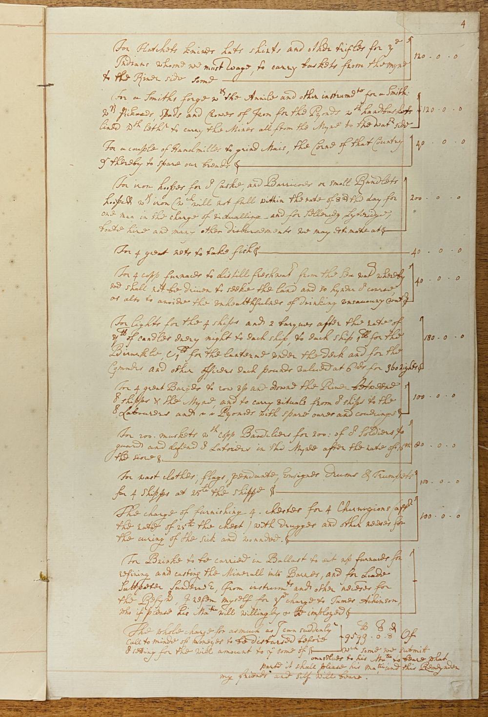 * West Indies. Manuscript application for funds and assistance... , mid 18th century - Image 4 of 6