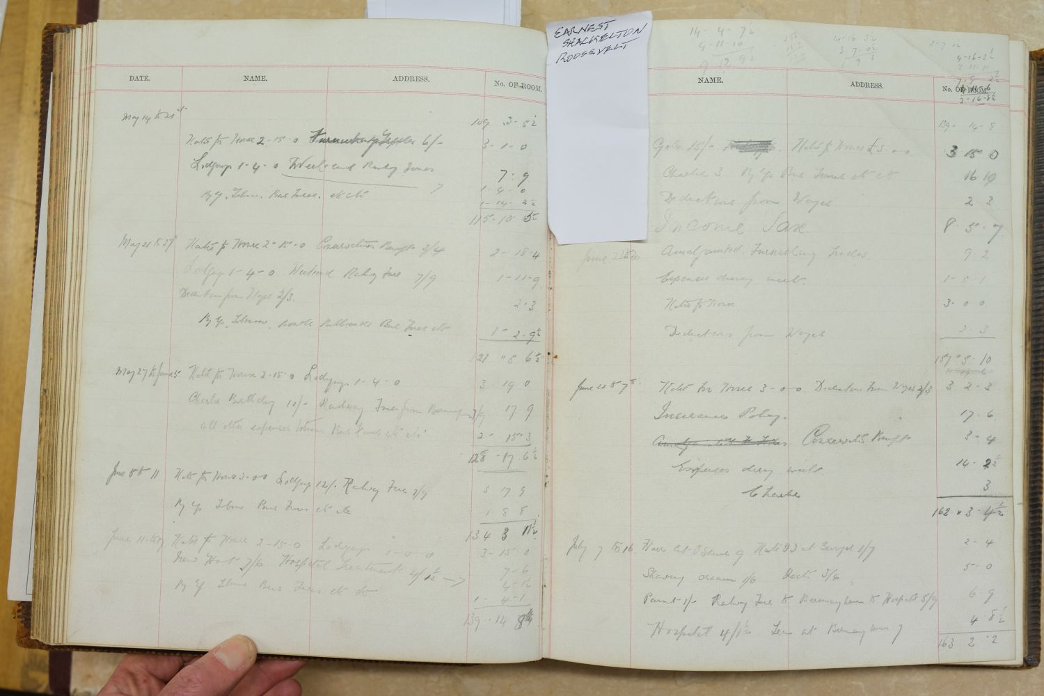 Visitors' Book. South Western Hotel, Southampton. A visitors' book, circa 1899-1912 - Image 16 of 16