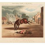 * Duncan (Edward). Count Sandor's Exploits in Leicestershire, set of 10, R. Akermann, 1833