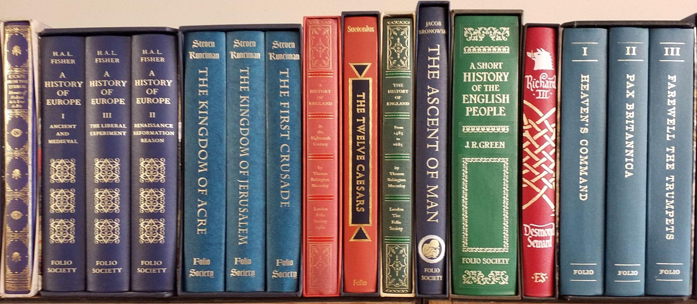 Folio Society. 55 volumes