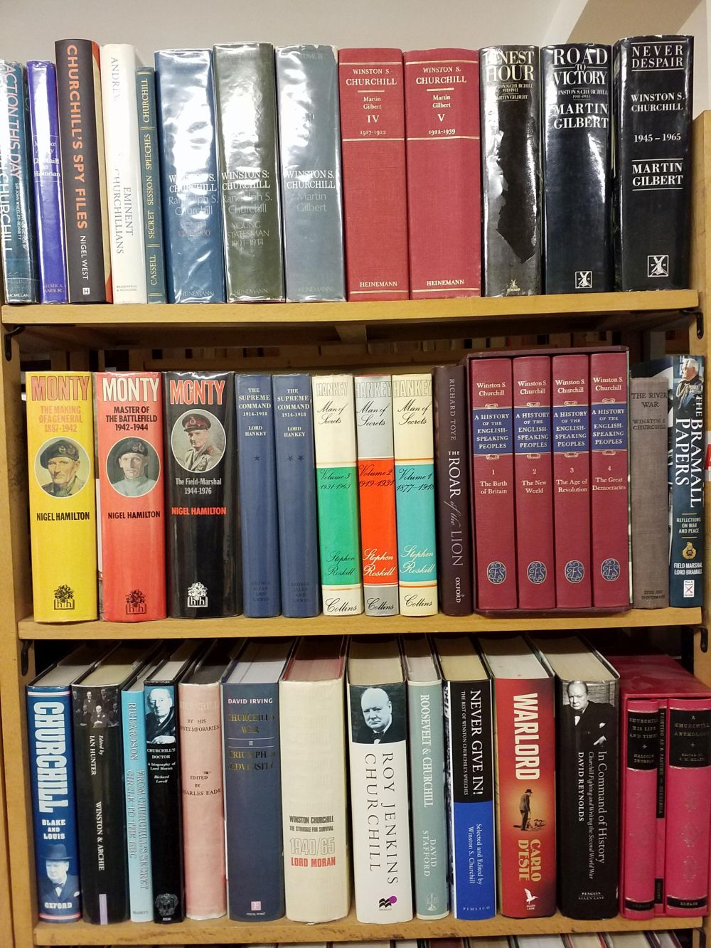 Military Biography. A large collection of military biographies & related