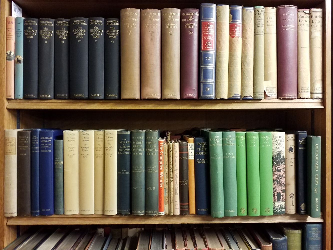History. A large collection of early 20th-century & modern history reference & biography