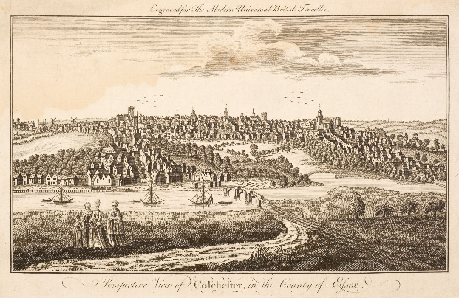 * Kent & Essex. A collection of approximately 400 views, mostly 19th century