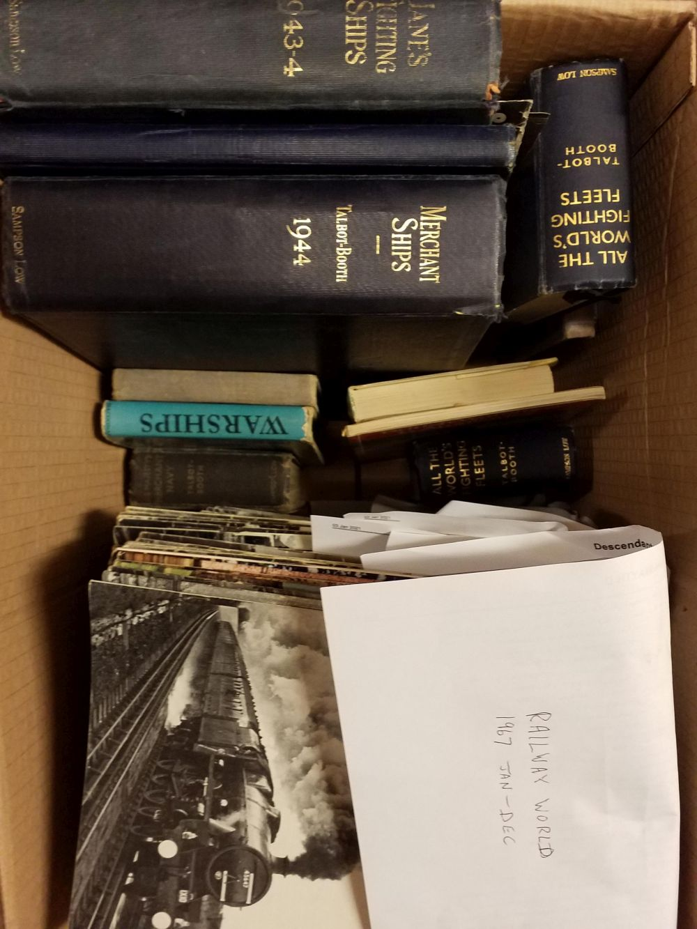 Military. A collection of military, naval, & railway reference - Image 2 of 2