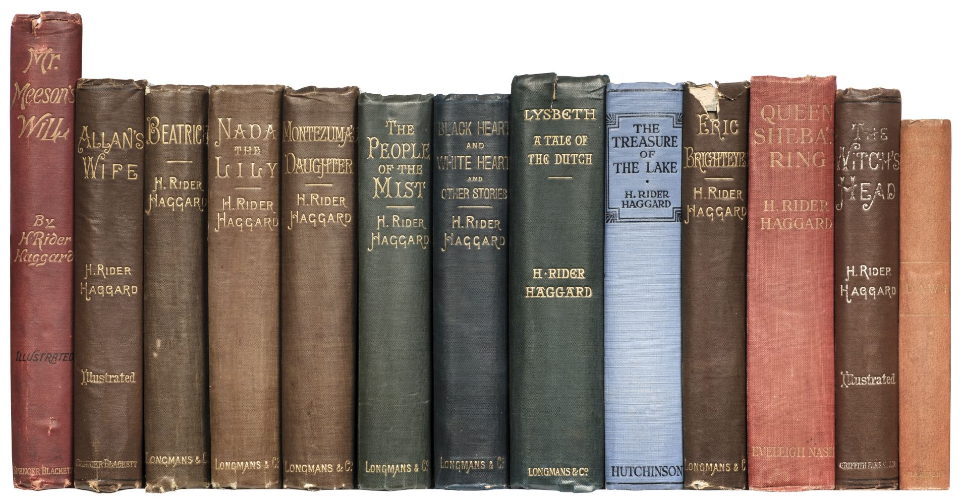 Haggard (Henry Rider). Dawn, 1st US edition, 1887