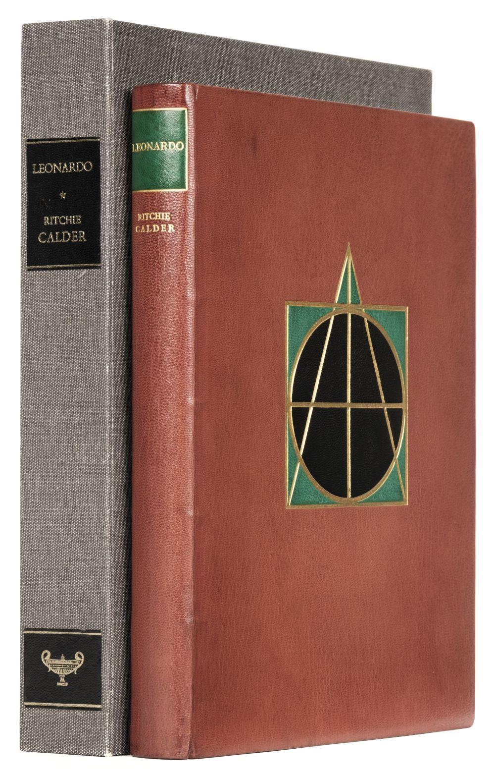 Arcadia Press. Leonardo, by Ritchie Calder, 1971, signed limited edition
