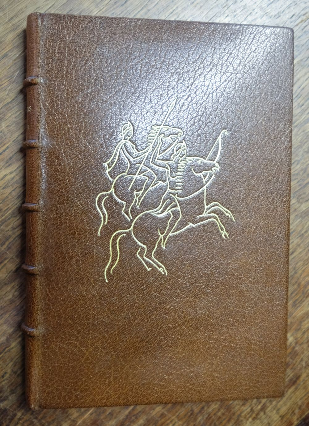 Golden Cockerel Press. The Amazons, A Novel by Ivor Bannet, 1948, signed in special binding - Image 2 of 8