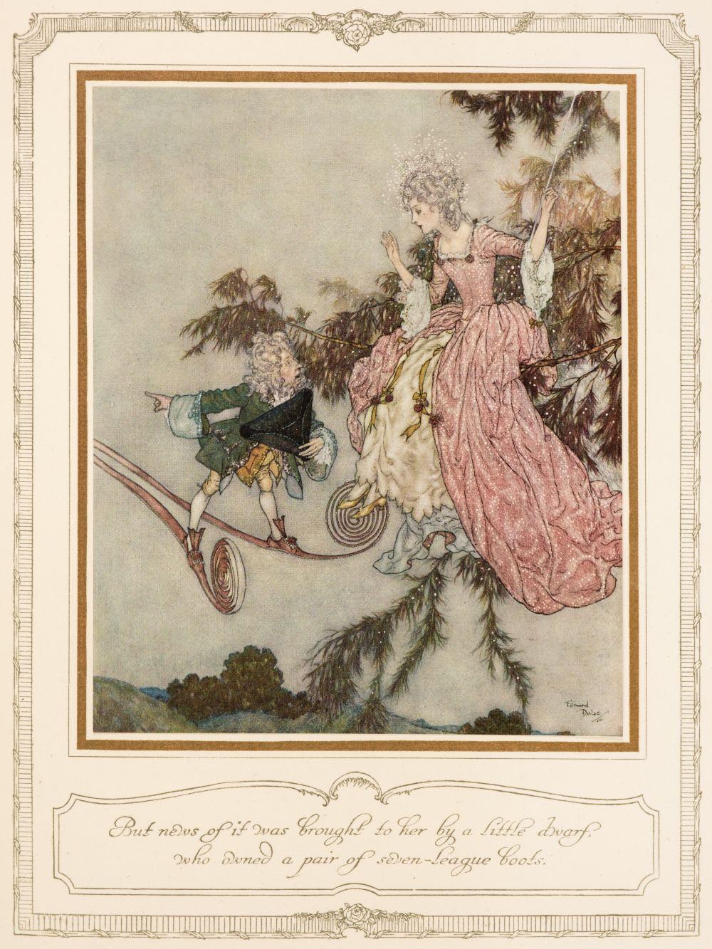 Dulac (Edmund, illustrator). The Sleeping Beauty, 1910