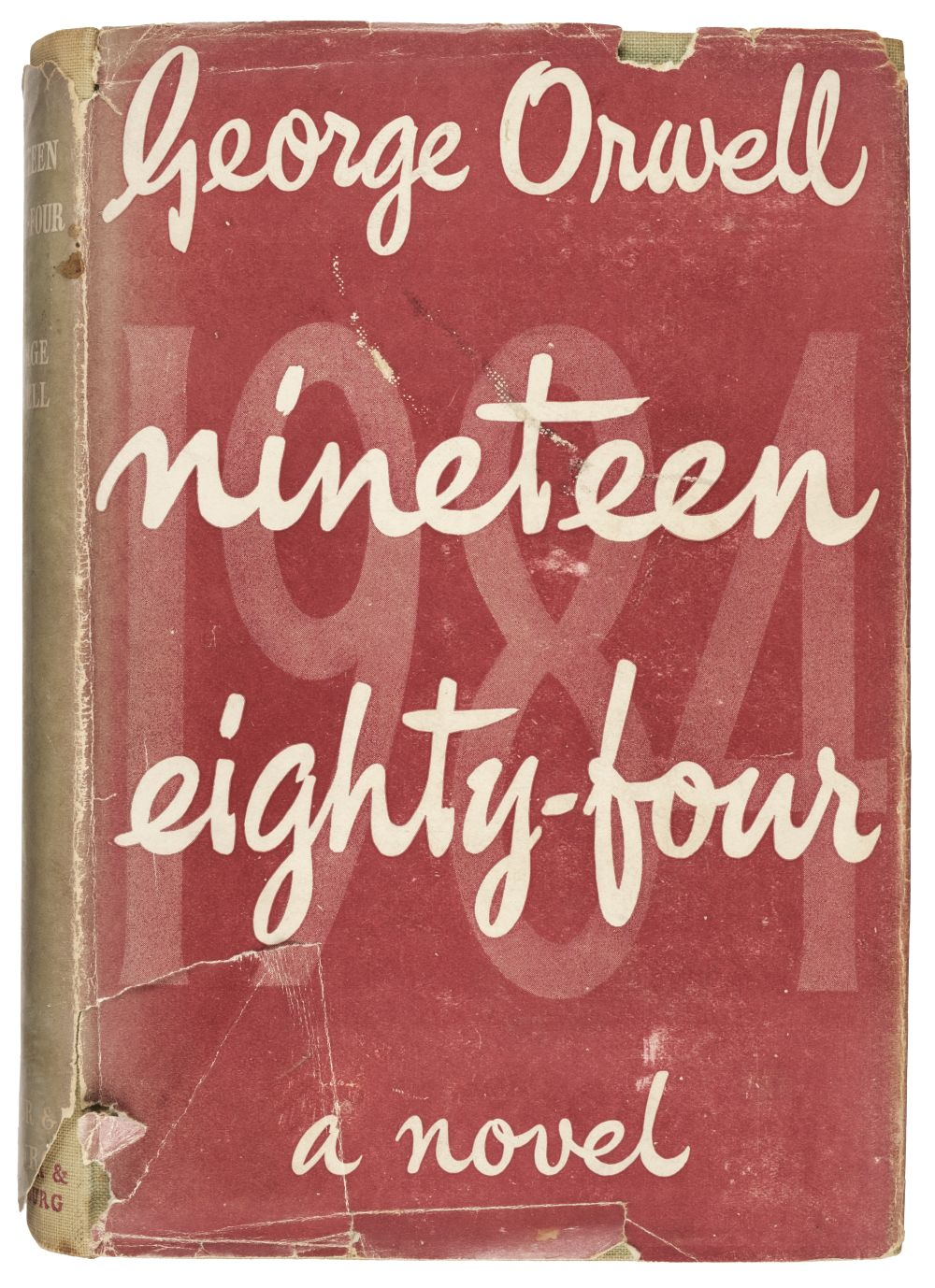 Orwell (George). Nineteen Eight-Four, 1st edition, 1949