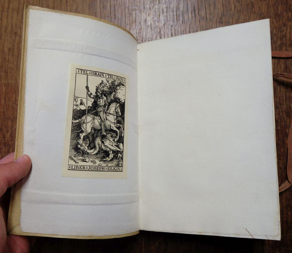 Kelmscott Press. The Wood Beyond the World, 1894 - Image 6 of 9