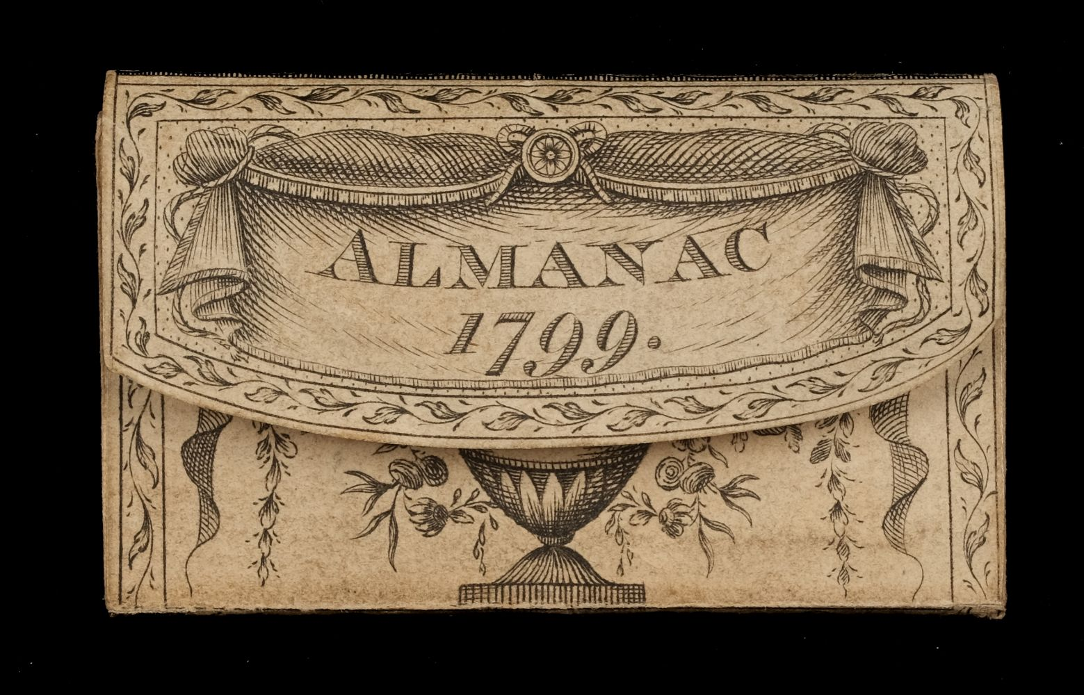 Miniature. London Almanack for the Year of Christ 1799