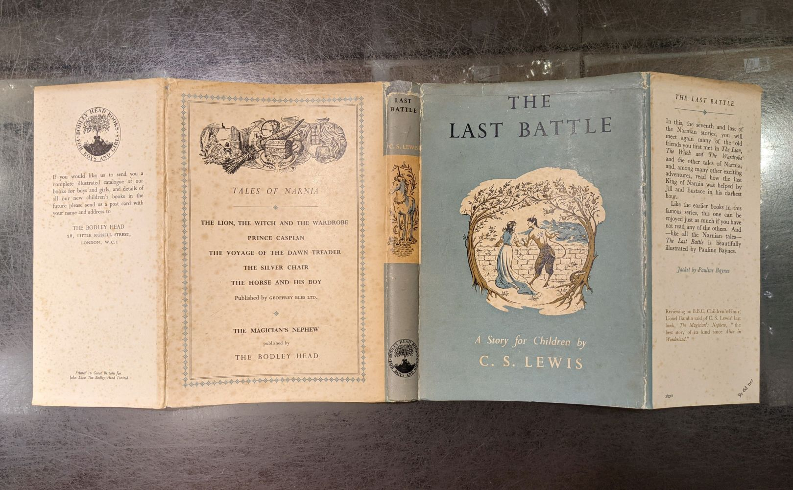 Lewis (C.S.) The Last Battle, 1st edition, 1956 - Image 3 of 9