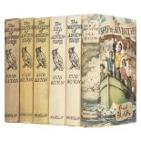 Blyton (Enid). The Island of Adventure & 5 others, all 1st editions and signed