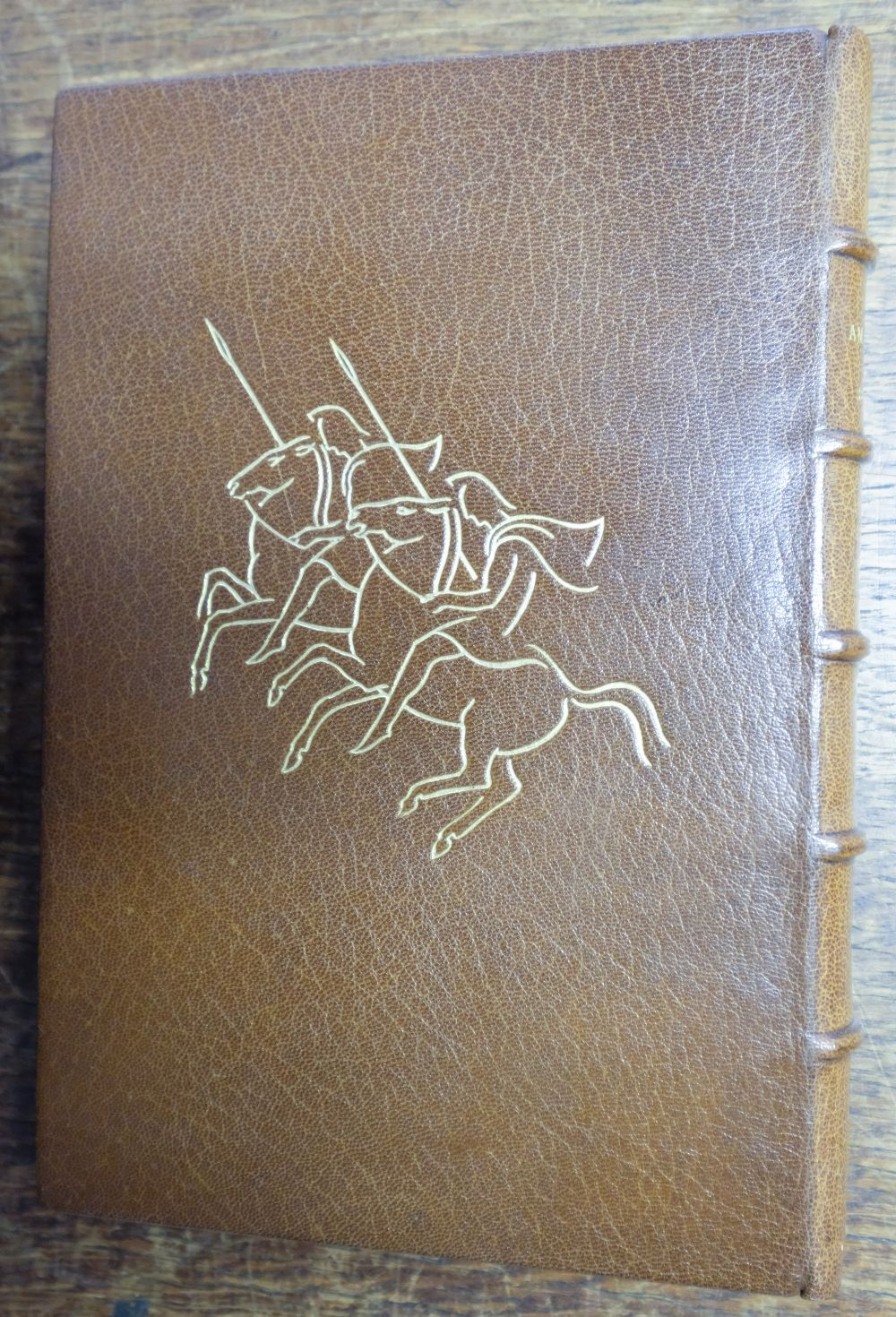 Golden Cockerel Press. The Amazons, A Novel by Ivor Bannet, 1948, signed in special binding - Image 4 of 8