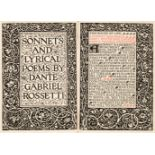 Kelmscott Press. Sonnets and Lyrical Poems, 1894