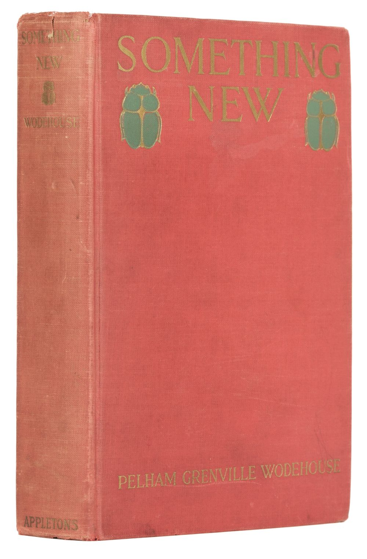 Wodehouse (P.G.) Something new, 1st US edition, 1915