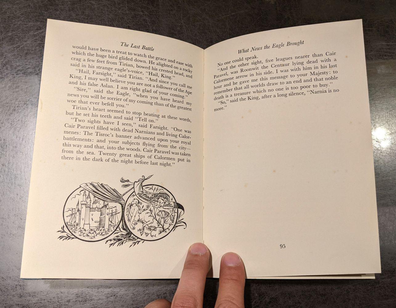Lewis (C.S.) The Last Battle, 1st edition, 1956 - Image 9 of 9