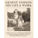 Shakespeare Head Press. Ernest Gimson his life and work, 1924