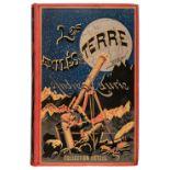 Laurie (André). Les Exilés de la Terre, 1st edition, Paris, [1888]