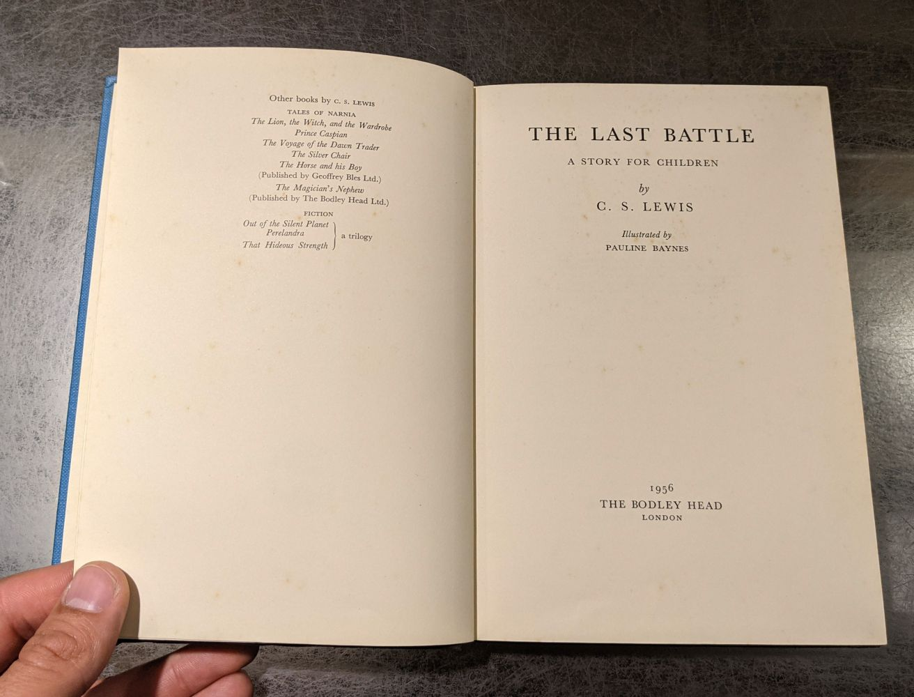 Lewis (C.S.) The Last Battle, 1st edition, 1956 - Image 7 of 9