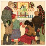 Dulac (Edmund, introduction by). Christmas Pictures by Children, 1992, and 4 others illustrated