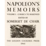 Golden Cockerel Press. Napoleon's Memoirs, 2 volumes, 1945