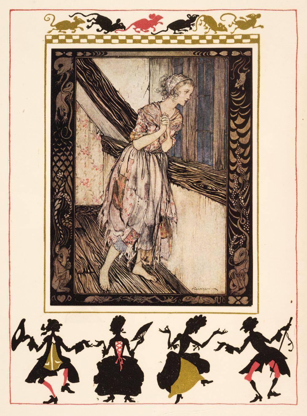 Rackham (Arthur, illustrator). Cinderella, 1919