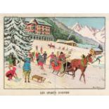 * Vallée (Georges, active 1897-1921). Les Sports d'Hiver