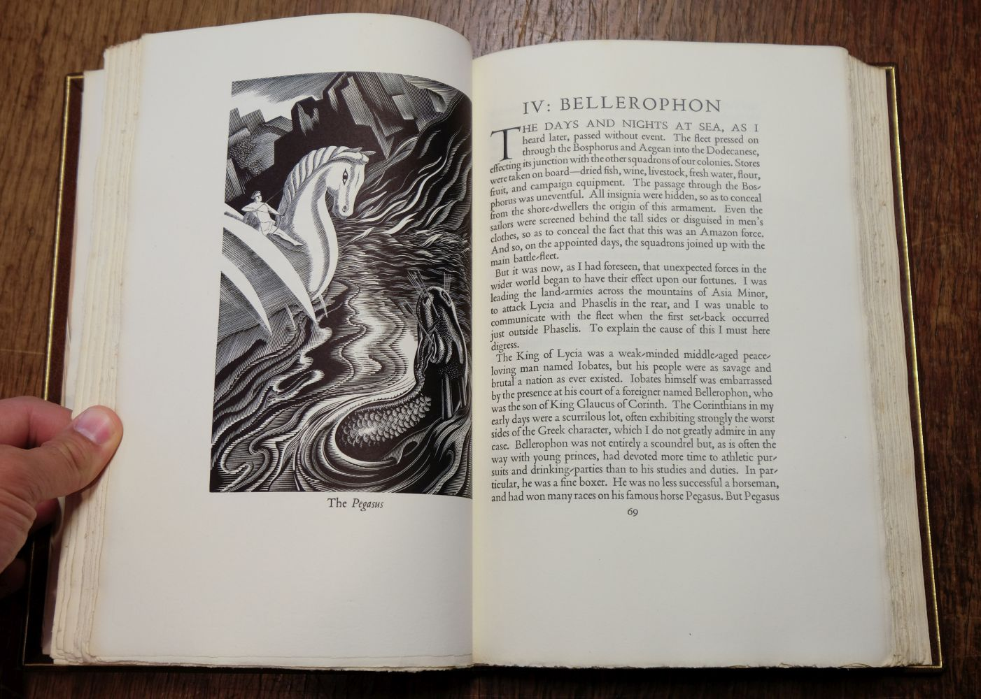Golden Cockerel Press. The Amazons, A Novel by Ivor Bannet, 1948, signed in special binding - Image 6 of 8
