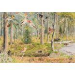 * Barrett (Peter, 1935). American Woodland Glade