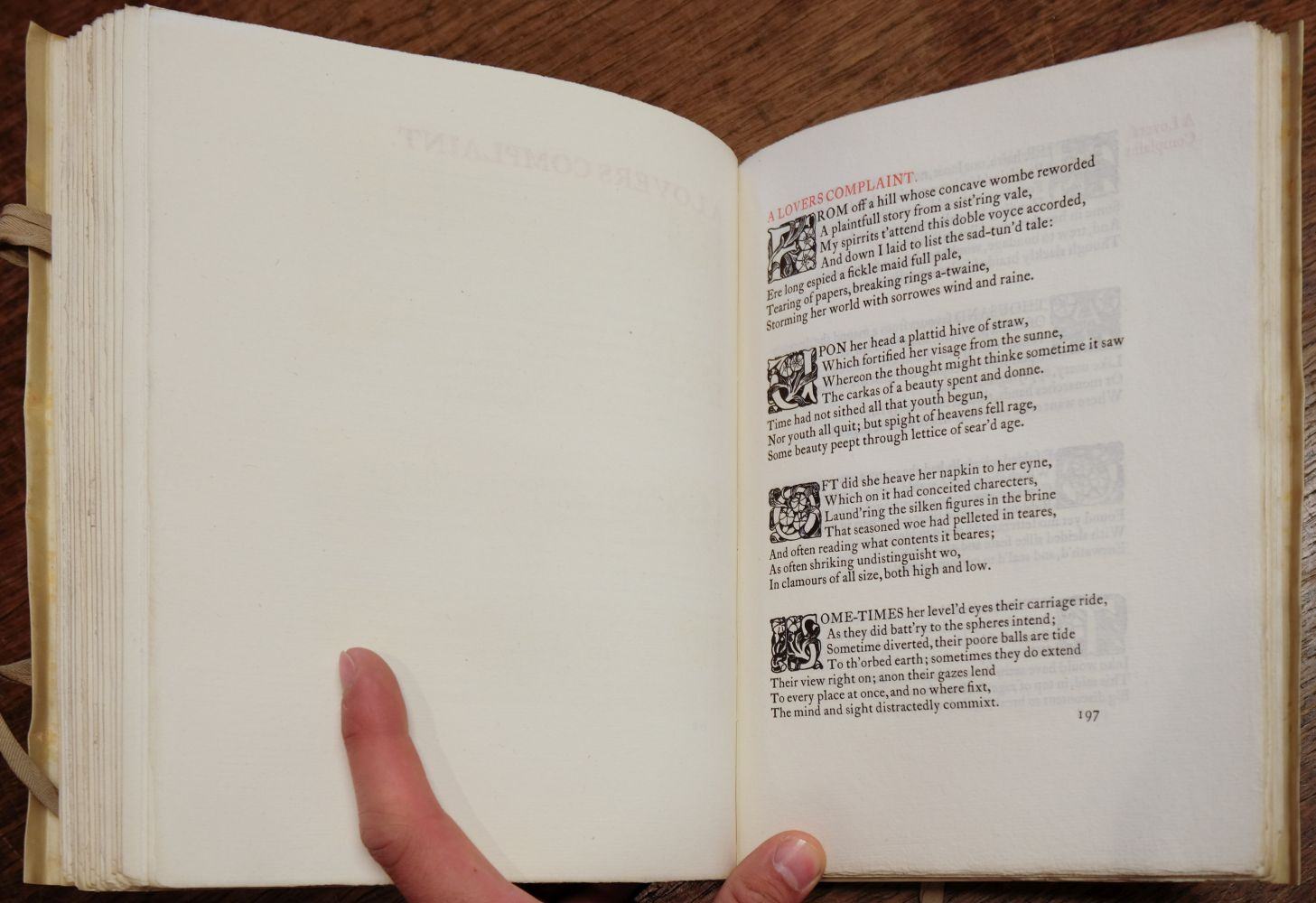 Essex House Press. The Poems of William Shakespeare, 1899 - Image 7 of 7