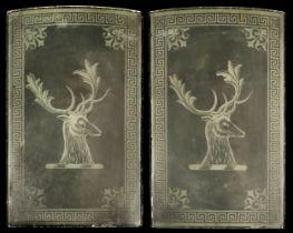 * Tavern Glass Panels circa 1900