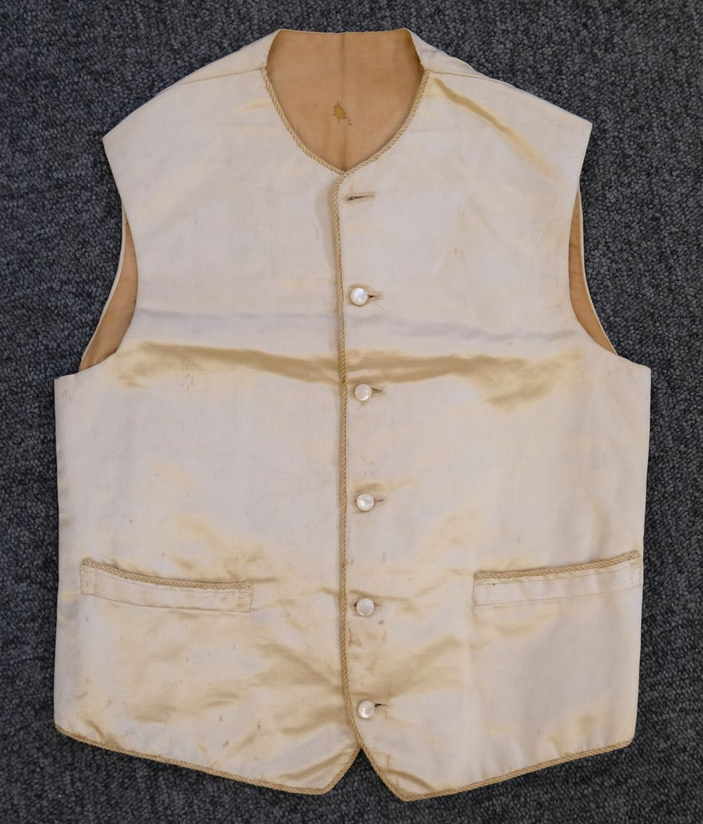 * Children's clothes. A boy's mourning dress, circa 1840 - Image 9 of 9