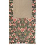 * Shawls. A pair of Delhi shawl panels, mid-late 19th century, and 2 others